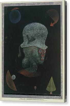 Astrological Fantasy Portrait Canvas Print by Paul Klee