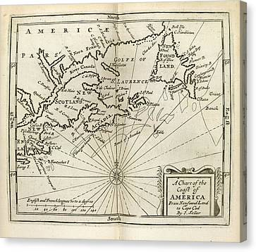 Atlas Maritimus Canvas Print by British Library