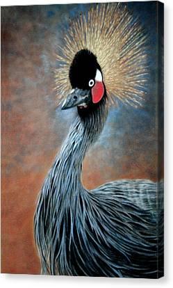Attitude Bird Canvas Print