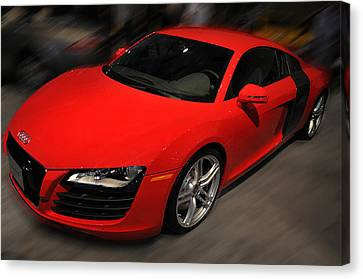 Audi R8 Canvas Print by Dragan Kudjerski