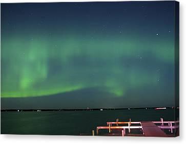 Aurora Borealis Canvas Print by Paul Shorma