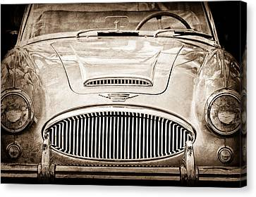 Austin-healey 300 Mk II Canvas Print by Jill Reger