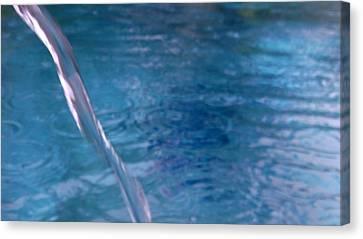 Australia - Weaving Thread Of Water Canvas Print by Jeffrey Shaw