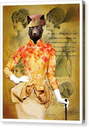 Australian Kelpie Art Canvas Print Canvas Print