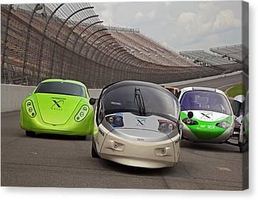 Automotive X Prize Competition Canvas Print by Jim West