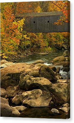 Autumn At Bulls Bridge Canvas Print