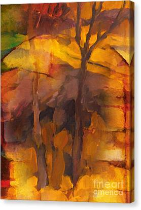 Autumn Gold Canvas Print by Lutz Baar
