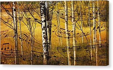 Autumn Sonata Canvas Print by Theresa Tahara