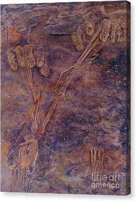 Awaken Canvas Print by Jacquelyn Roberts