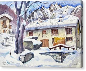 B02  Ticino Ch Canvas Print
