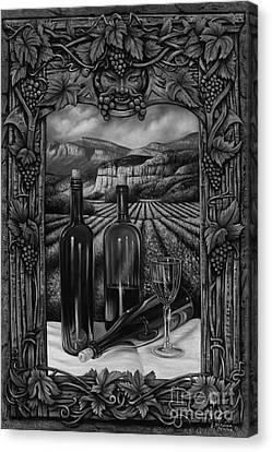 Bacchus Vineyard Canvas Print by Ricardo Chavez-Mendez