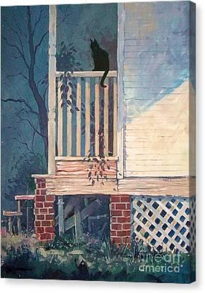 Back Porch Canvas Print by Micheal Jones