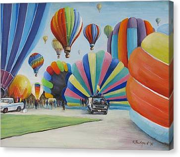 Balloon Fest Canvas Print by Oz Freedgood