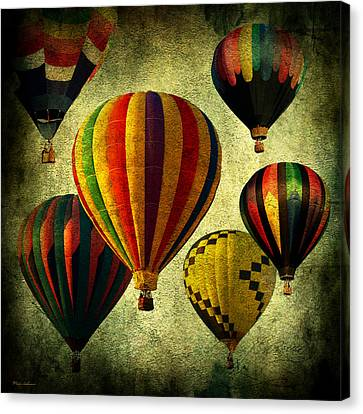 Balloons Canvas Print by Mark Ashkenazi