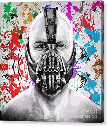 Bane The Dark Knight Rises Canvas Print