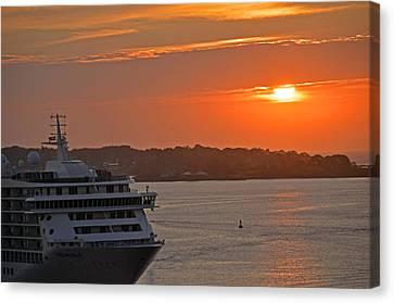 Bar Harbor Maine Sunrise  Canvas Print