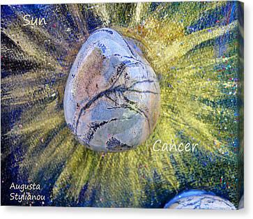 Sun Rays Canvas Print - Barack Obama Sun by Augusta Stylianou