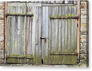 Barn Door Canvas Print by Tom Gowanlock