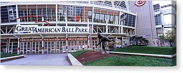 Baseball Stadium, Great American Ball Canvas Print by Panoramic Images