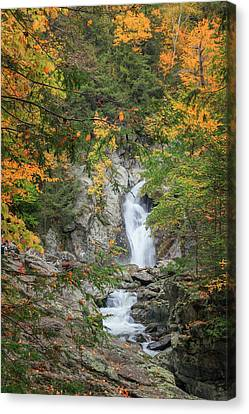Western Ma Canvas Print - Bash Bish Falls by Bill Wakeley