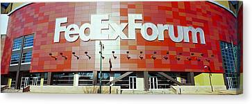 Basketball Stadium In The City, Fedex Canvas Print by Panoramic Images