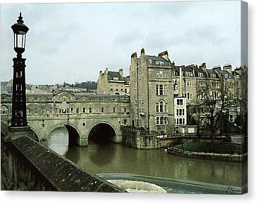 Bath England Canvas Print by Ellen Henneke