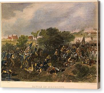 Battle Of Monmouth, 1778 Canvas Print