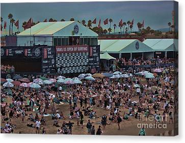 Kelly Slater Canvas Print - Beach People by RJ Aguilar