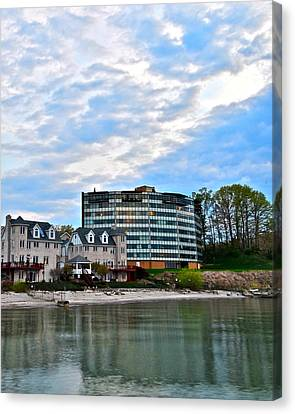 Marvelous View Canvas Print - Beachfront Property by Frozen in Time Fine Art Photography