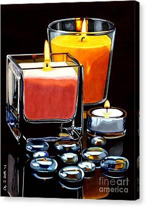 Beautiful Reflection Canvas Print