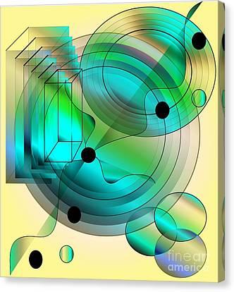 Begin Again Canvas Print by Iris Gelbart