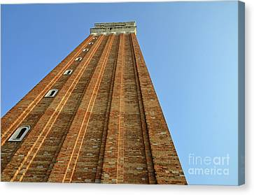 Bell Tower On San Marco Piazza Canvas Print by Sami Sarkis