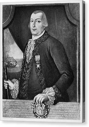 Bernardo De Galvez (1746-1786) Canvas Print by Granger