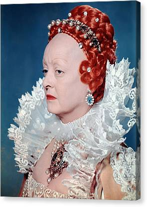 Bette Davis In The Virgin Queen  Canvas Print by Silver Screen