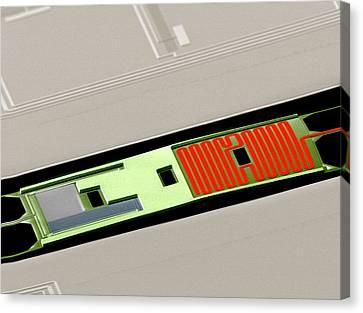 The Universe Canvas Print - Bicep2 Detector by Nasa/jpl-caltech