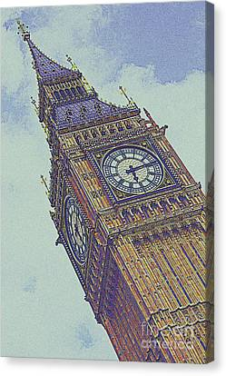 Big Ben In London Canvas Print by Celestial Images
