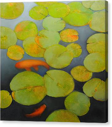 Big Koi Sold Canvas Print