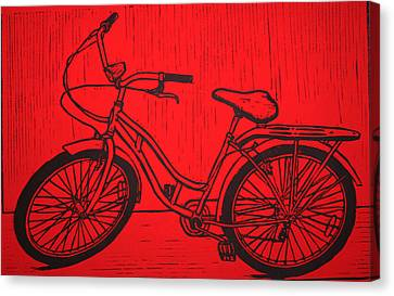 Bike 5 Canvas Print