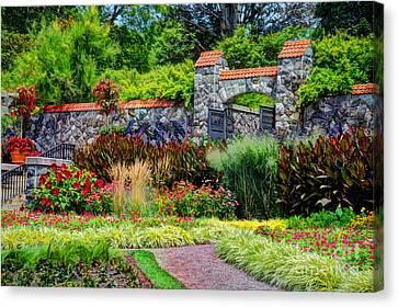 Biltmore Gardens Canvas Print by Savannah Gibbs