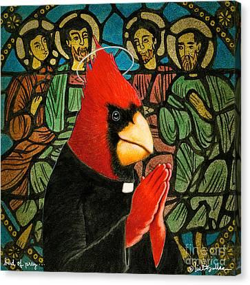 Bird Of Pray... Canvas Print by Will Bullas