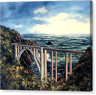 Bixby Creek Bridge Canvas Print
