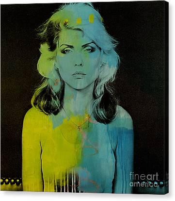 Blondie Debbie Harry Canvas Print by Marvin Blaine