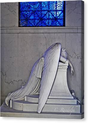 Blue Canvas Print by Cheri Randolph