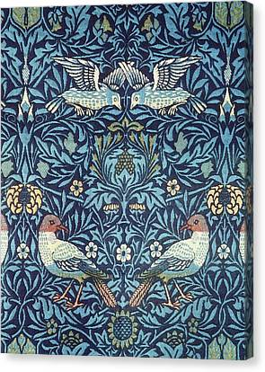 Blue Tapestry Canvas Print