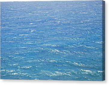 Canvas Print featuring the photograph Blue Waters by George Katechis