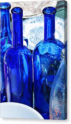 Blue Canvas Print by Werner Lehmann