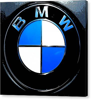 BMW Canvas Print by J Anthony