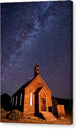 Bodie Church Canvas Print by Cat Connor