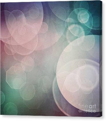 Bokeh Background Canvas Print by Mythja  Photography