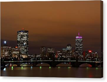 Crosswalk Canvas Print - Boston by Andrea Galiffi